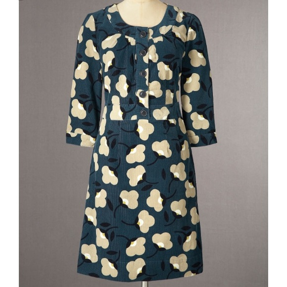fae3a6454e444 Boden Dresses & Skirts - Boden Placket Cord Dress in size 4L